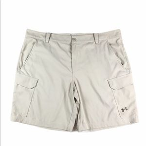 Mens Under Armour Heatgear Golf Cargo Shorts 44